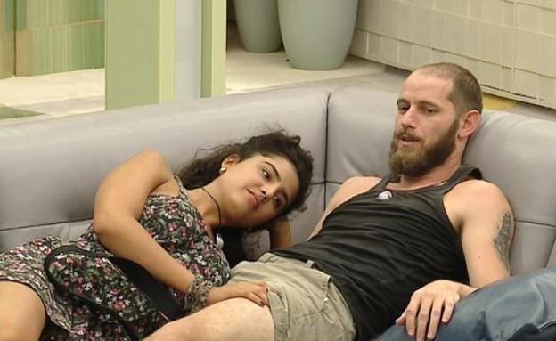 קארין ואלדד בסלון (תמונת AVI: mako)