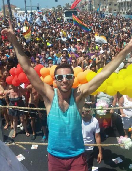מצעד הגאווה 2014 (צילום: עידן מטלון)