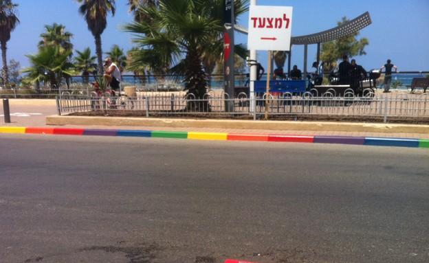 מדרחוב בוגרשוב בצבעי הגאווה (צילום: רוני שיצר,  יחסי ציבור )