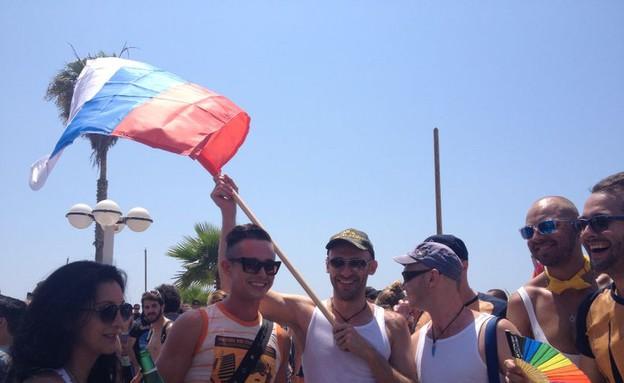 מצעד הגאווה 2014 (צילום: ג'ורג' אבני)