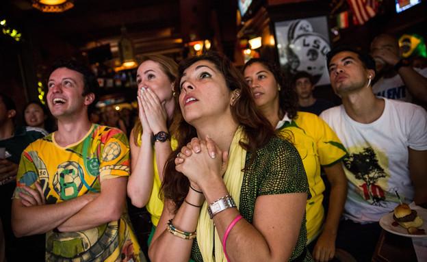 ברזיל - קרוואטיה (צילום: Andrew Burton, GettyImages IL)