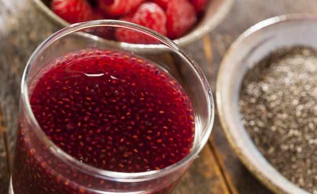 צ'יאה - זרעים ומשקה תות (צילום: bhofack2, Thinkstock)