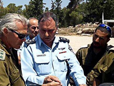 """המפכ""""ל דנינו (צילום: פייסבוק משטרת ישראל)"""