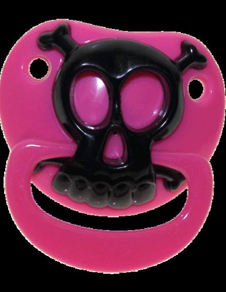 תינוק רוקיסט, מוצץ פיראטים, צילום punkbabyclothes. (צילום: punkbabyclothes.net)