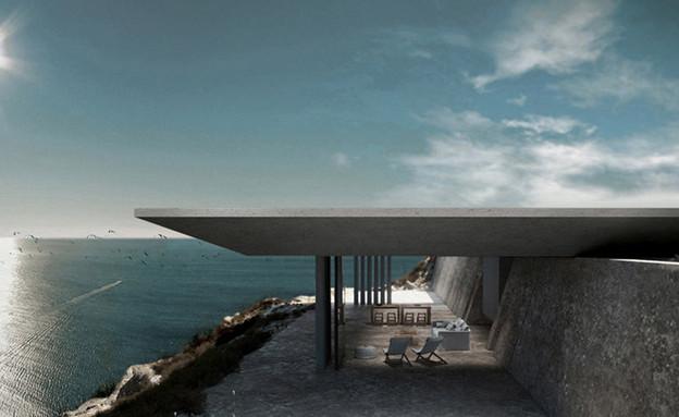 בית המיראז' ביוון (צילום: koisarchitecture.com)