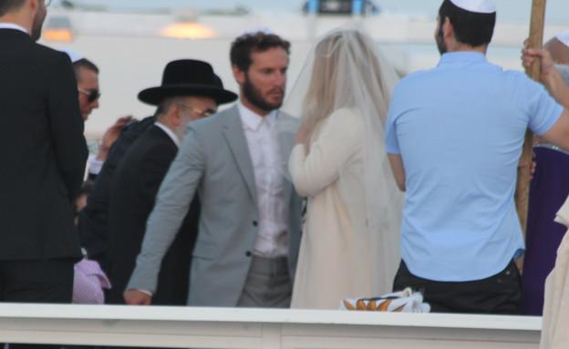 חתונה אנחל ודושי (צילום: צ'ינו פפראצי)