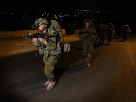 25 מבוקשים נעצרו. כוחות צה