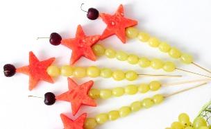 שרביטי פירות (צילום: שרית נובק - מיס פטל, אוכל טוב)