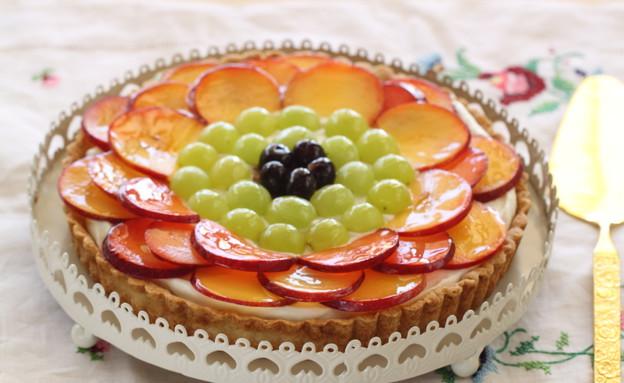 טארט פירות קיץ (צילום: חן שוקרון, אוכל טוב)