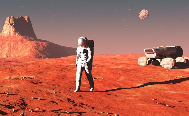 לוחם במאדים (צילום: ThinkStock)