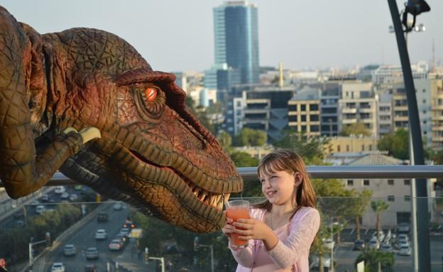 פעילויות לילדים בחופש הגדול 2014 - הדינוזאורים באים (צילום: יואב זיסקרוט,  יחסי ציבור )