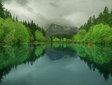 סקוטלנד, אגם (צילום: יגאל גיאת)