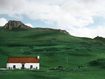 סקוטלנד, בית שמיים (צילום: סיון פרץ)