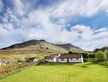 סקוטלנד, בית (צילום: יגאל גיאת)