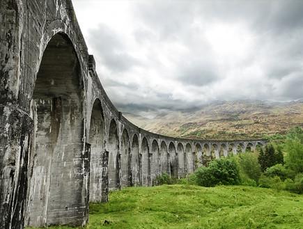 סקוטלנד, גשר (צילום: יגאל גיאת)