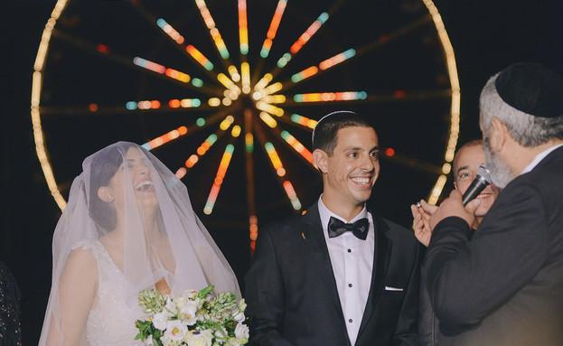 החתונה של רלי ונדב (צילום: תום ברטוב)