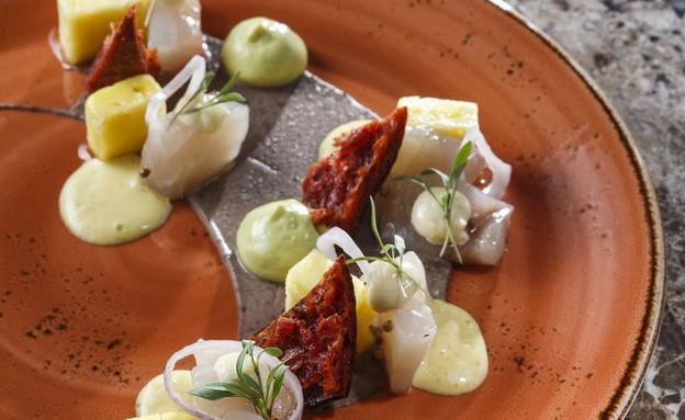 סביצ׳ה מקסיקני, מסעדת לומינה (צילום: דן פרץ,  יחסי ציבור )