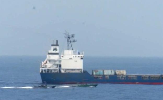 """הספינה KLOS C, ארכיון (צילום: דו""""צ)"""