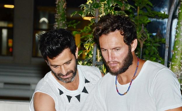 אנחל בונני ויהודה לוי (צילום: אביב חופי)