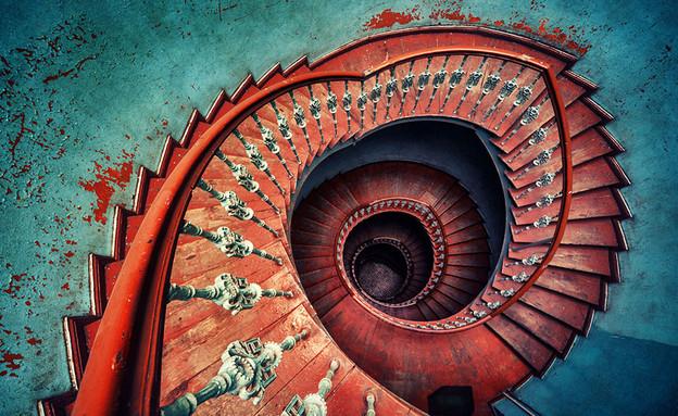 מדרגות ספירלה (צילום:  Matthias Haker)