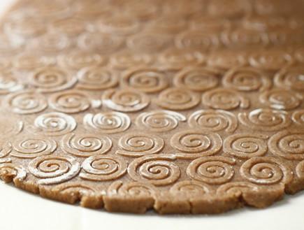עוגיות קינמון - בצק מרודד
