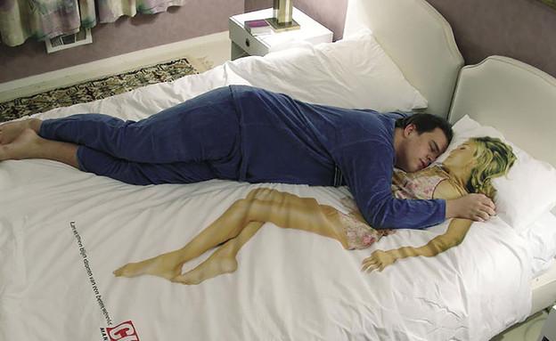 מצעים מגניבים בת זוג (צילום: adsoftheworld.com)