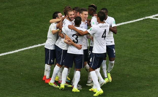 נבחרת צרפת במונדיאל (צילום: Celso Junior, GettyImages IL)