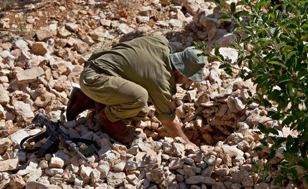 חיילים בחיפושים אחר החטופים, חטיפה בחברון (צילום: חדשות 2)