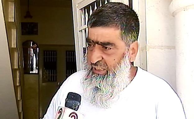 אבא של חשוד בחטיפה (צילום: חדשות 2)