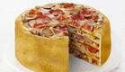 עוגת פיצה. תגדירו סלייס (צילום: Stian Alexander, צילום מסך)