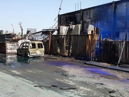 ירי בלתי פוסק: המפעל בשדרות שנפגע מקסאם