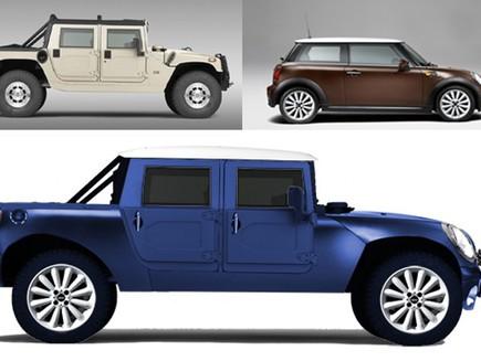 מכוניות שילובים משונים