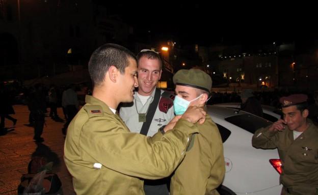 עילי בוזי בטקס ההשבעה (צילום: תומר ושחר צלמים)