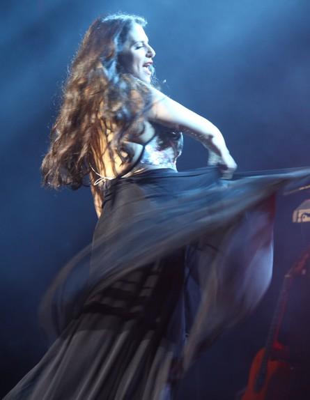 מירי מסיקה במופע השקה במשכן (צילום: ענבל צח)
