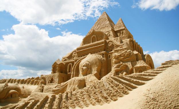 פסלים בחול (צילום: אימג'בנק / Thinkstock)