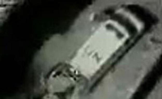 """רכב או""""ם מוביל טילים (צילום: דובר צה""""ל)"""