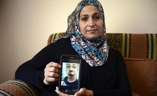 אמו של מוחמד אבו-ח'דיר (צילום: ap)