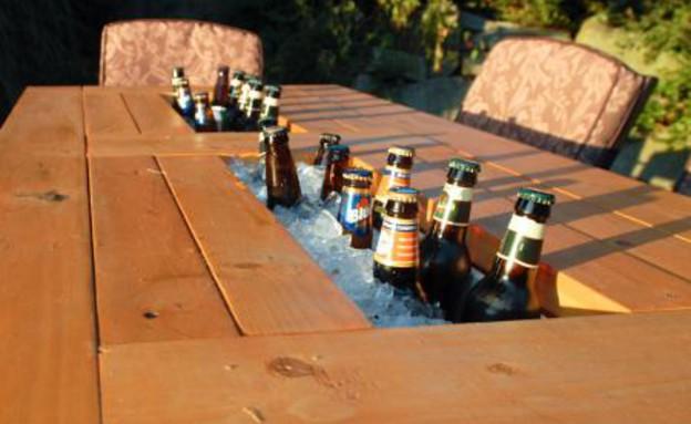 עשה זאת בעצמך, שולחן קולר גובה (צילום: ana-white.com)