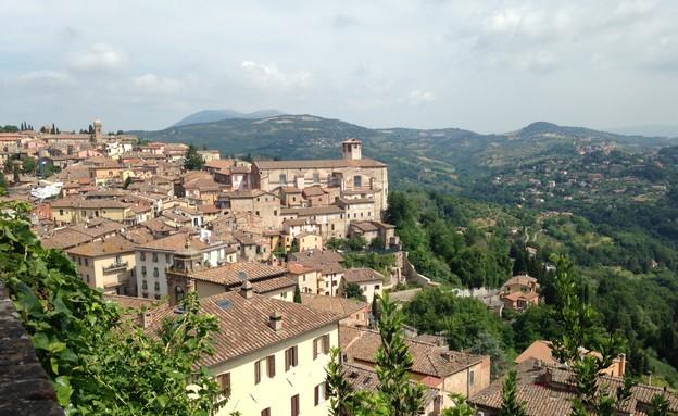 גיל באיטליה, פרוגה (צילום: גיל משעלי)