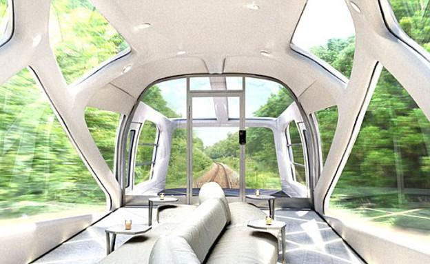 הרכבת היקרה בעולם (צילום: JR East)