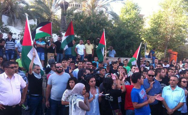 הפגנה בערערה (למצולמים אין קשר לכתבה) (צילום: חדשות 2)