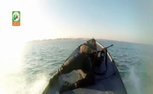 הקומנדו הימי של חמאס (צילום: יוטיוב )
