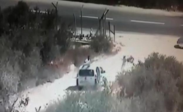 צפו: חשד לניסיון חטיפה בשומרון