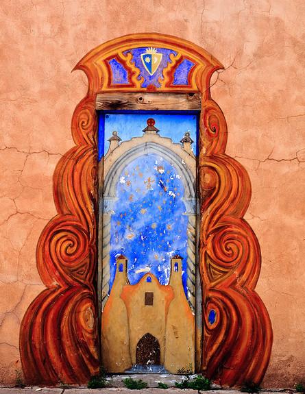 דלתות, סנטה פה, מקסיקו, גובה, צילום Ken Piorkowski