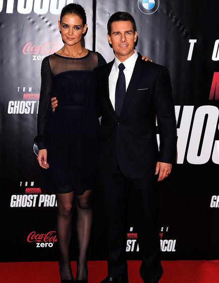 קייטי הולמס וטום קרוז  (צילום: אימג'בנק/GettyImages, getty images)