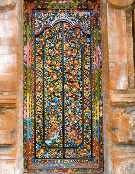 דלתות, באלי אינדונזיה, צילום Corinna A. Carlson