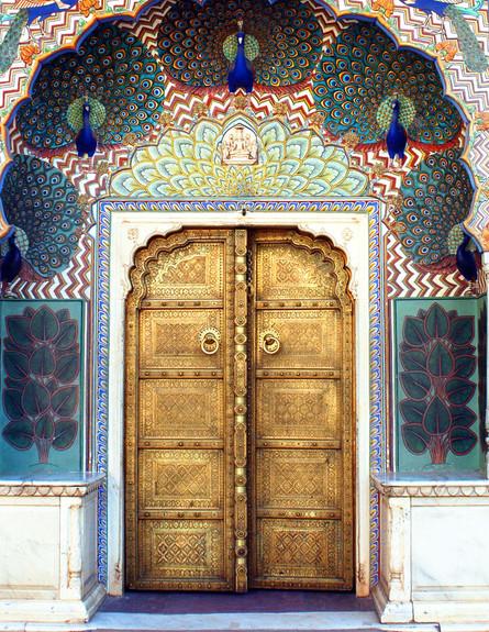 דלתות, ג'איפור, צילום payal.jhaveri