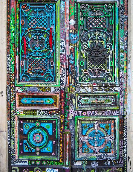 דלתות, מונטמרטר, פריז, צילום John Kroll