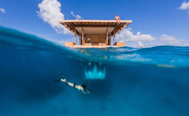 זנזיבר, מלון מתחת למים (צילום: Manta_Resort)