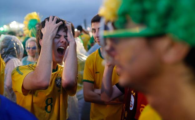 ברזיל מעכלת את התבוסה